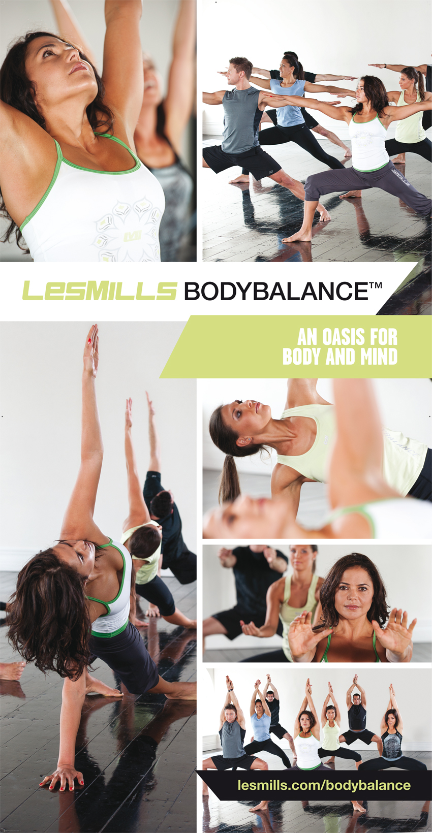 Body Balance flyer sportschool